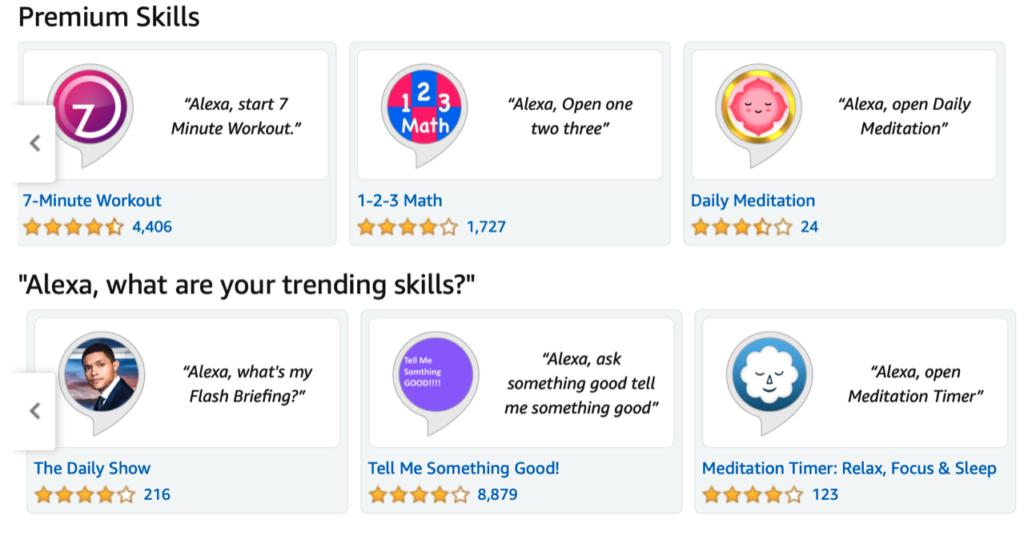 alexa skills app